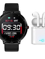 cheap -BM08 Smartwatch for Samsung/ IOS/ Android Phones, Bluetooth Fitness TrackerSupport Notify/ Heart Rate/ Blood Pressure Measurement