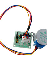 cheap -28BYJ-48 5V Stepper Motor with Controller Module for Arduino ULN2003