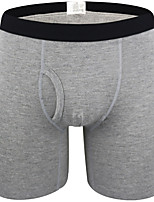 cheap -Men's Basic Boxers Underwear - Normal Low Waist Dark Gray Gray Light gray M L XL