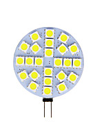 cheap -1pc 4 W LED Bi-pin Lights 180 lm G4 T 24 LED Beads SMD 5050 Warm White Cold White 12 V