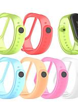 cheap -Watch Band for Mi Band 3 Xiaomi Sport Band TPE Wrist Strap