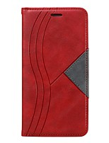 cheap -Case For Samsung Galaxy Note 10 Plus / Note 10 Plus / Galaxy M10(2019) Wallet / Card Holder / Shockproof Full Body Cases Geometric Pattern PU Leather Case For Samsung Galaxy Note 9 / Note 8