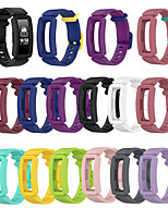 cheap -Watch Band for Fitbit Ace 2 / Fitbit Inspire HR / Fitbit Inspire Fitbit Classic Buckle Silicone Wrist Strap