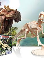 cheap -3D Puzzle Dinosaur Fossil Dinosaur Figure Dinosaur Animals Adorable Parent-Child Interaction Plastic Kid's All Toy Gift