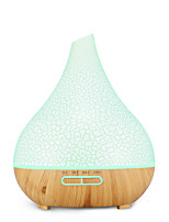 cheap -Air humidifier colorful wood grain essential oil aromatherapy machine 400ml ultrasonic humidifier