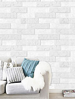 cheap -3D Brick Wall Stickers Living Room DIY PE Foam Wallpaper Panels Room Decal Brick Decoration Embossed Wallpapers Poster