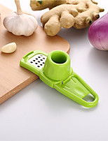 cheap -1pcs Garlic Press Crusher Squeezer Masher Home Kitchen Mincer Tool Stainless Steel quality Slicer Hand Presser Grinder Crushe