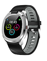 cheap -T01 Unisex Smartwatch Android iOS Bluetooth Waterproof Touch Screen Blood Pressure Measurement Sports Long Standby ECG+PPG Pedometer Activity Tracker Sleep Tracker Sedentary Reminder