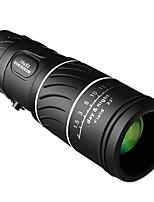 cheap -Portable 16 X 52 High Over Binoculars Telescope Monocular 66 / 8000M Plastic Binoculars Outdoor Black Outdoor Sports Telescope