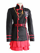 cheap -Inspired by D.Gray-man Lenalee Lee Anime Cosplay Costumes Japanese Cosplay Suits Top Waist Belt Removable Chain Strap For Women's / Waist Pouch
