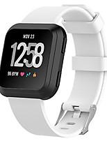 Недорогие -Ремешок для часов для Fitbit Versa Fitbit Классическая застежка TPE Повязка на запястье