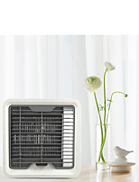cheap -Small household 7-color atmosphere lamp air conditioner fan USB 5V