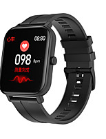 cheap -F22 Unisex Smartwatch Android iOS Bluetooth Waterproof Heart Rate Monitor Blood Pressure Measurement Distance Tracking Information Pedometer Call Reminder Activity Tracker Sleep Tracker Sedentary