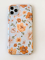 cheap -Case For Apple iPhone 11 / iPhone 11 Pro / iPhone 11 Pro Max Pattern Back Cover Flower PC