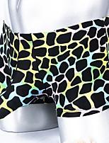 cheap -Men's Print Boxers Underwear - Normal Low Waist Black Light Blue Blue M L XL