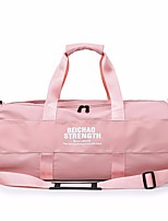 cheap -Unisex Zipper PU Top Handle Bag Solid Color Blushing Pink / Black