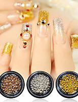 cheap -3 pcs 3D Interface / Multi-Type Metal Alloy Nail Jewelry For Finger Nail 3D nail art Manicure Pedicure Daily Punk / Gothic
