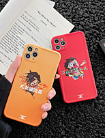 cheap -Case For Apple iPhone 11 / iPhone 11 Pro / iPhone 11 Pro Max Shockproof / Ultra-thin / Pattern Back Cover Word / Phrase / Cartoon PC