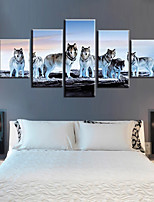 cheap -5 Panels Modern Canvas Prints Painting Home Decor Artwork Pictures DecorPrint Rolled Stretched Modern Art Prints Animals Nature
