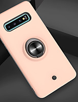 cheap -Case For Samsung Galaxy Galaxy S10 / Galaxy S10 Plus / Galaxy S10 E Shockproof / Ring Holder / Translucent Back Cover Armor PC