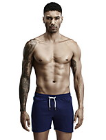 cheap -Men's Normal Cotton Sexy Long Johns Solid Colored Mid Waist