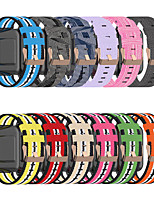 cheap -18mm Nylon Denim Canvas Watch Strap Watchband For Fossil Q Venture Gen 3/Gen 4/HR Gen 4 / Women's Gen 4 Sport
