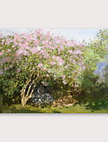cheap -IARTS®Hand Painted Big tree Oil Painting   with Stretched Frame For Home Decoration