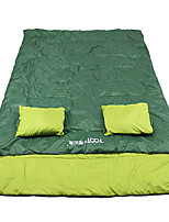cheap -Sleeping Bag Outdoor Camping Cuboid 15-25 °C Hollow Cotton Thermal / Warm Windproof Rain Waterproof Fast Dry All Seasons for Camping / Hiking / Caving Traveling Picnic