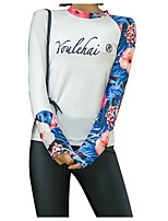 cheap -Women's Rash Guard Dive Skin Suit Diving Suit UV Sun Protection Anatomic Design Full Body 3-Piece - Diving Water Sports Painting Summer / Micro-elastic