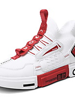 Недорогие -Девочки Удобная обувь Замша Спортивная обувь Маленькие дети (4-7 лет) Беговая обувь Красный / Белый / Черный Лето / Ботинки