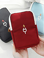 cheap -Portable Travel Gadget Storage Bag Cable Digital Bag Data Lines Package Organizer