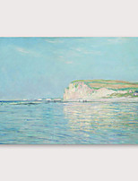 cheap -IARTS®Hand Painted Sea Oil Painting   with Stretched Frame For Home Decoration
