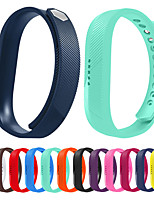 cheap -Watch Band for Fitbit Flex 2 Fitbit Classic Buckle Silicone Wrist Strap