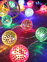 cheap -LED Iron Metal Ball Morocco Ball Outdoor Waterproof Indoor And Outdoor Festival Decoration Modeling String