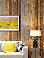 cheap -21in*375in Wood Peel and Stick Wallpaper Decorative Wall Covering Vintage Wood Panel Interior Film for room  Decoration
