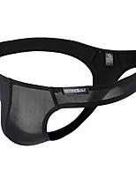 cheap -Men's Basic G-string Underwear - Normal Low Waist Black White Purple M L XL