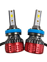 cheap -OTOLAMPARA 2pcs H11 / PGJ19-2 Car Light Bulbs 55 W CSP / CSP1919 4400 lm 2 LED Headlamps For Toyota Corolla / Camry 2018 / 2016 / 2017