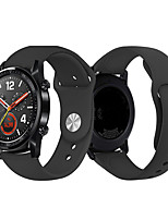 cheap -Watch Band for Huawei Watch GT / Huawei Watch 2 Pro / Honor Magic Huawei Modern Buckle Silicone Wrist Strap