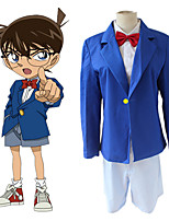 cheap -Inspired by Detective Conan Conan Edogawa Anime Cosplay Costumes Japanese Cosplay Suits Coat Shorts Bow Tie For Men's Women's