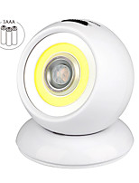 cheap -USB Charging LED Human Body Induction Night Light Home 360 Degree Rotating Infrared Induction Wardrobe Cabinet Aisle Light