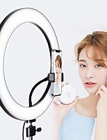 cheap -Dimmable LED Selfie Ring Light 8W 5500K Studio Photography Photo Fill Ring Light with Tripod for iphone Smartphone Studio Makeup