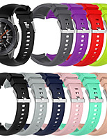 cheap -Watch Band for Gear Sport / Gear S2 Classic / Samsung Galaxy Watch 42mm Samsung Galaxy Sport Band Silicone Wrist Strap