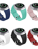 cheap -Watch Band for Gear S2 Samsung Galaxy Classic Buckle Silicone Wrist Strap