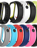 cheap -Watch Band for Mi Band 3 / Xiaomi Band 4 Xiaomi Sport Band Silicone Wrist Strap