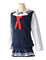 cheap -Inspired by Saenai Heroine no Sodatekata Eriri Anime Cosplay Costumes Japanese Cosplay Suits Vest Top Skirt For Women's