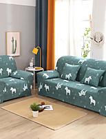 Недорогие -мультяшный конский принт пылезащитный всесильный чехлы из эластичного чехла на диван из мягкой ткани с одной бесплатной наволочкой