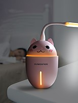 cheap -3 in 1  Air Humidifier Ultrasonic Cool-Mist Adorable Pet USB Mini Cute Humidifier With LED Light Mini USB Fan