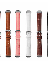 cheap -Watch Band for Fitbit Inspire HR / Fitbit Inspire Fitbit Classic Buckle Genuine Leather Wrist Strap