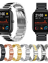 cheap -Metal Watch Strap for Amazfit GTS Xiaomi Wrist Strap Stainless Steel Band