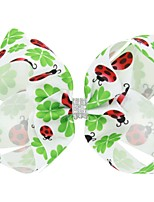 cheap -Kids / Toddler / Infant Girls' Active / Basic Trees / Leaves / Animal Floral Style Polyester Hair Accessories White / Army Green / Red One-Size